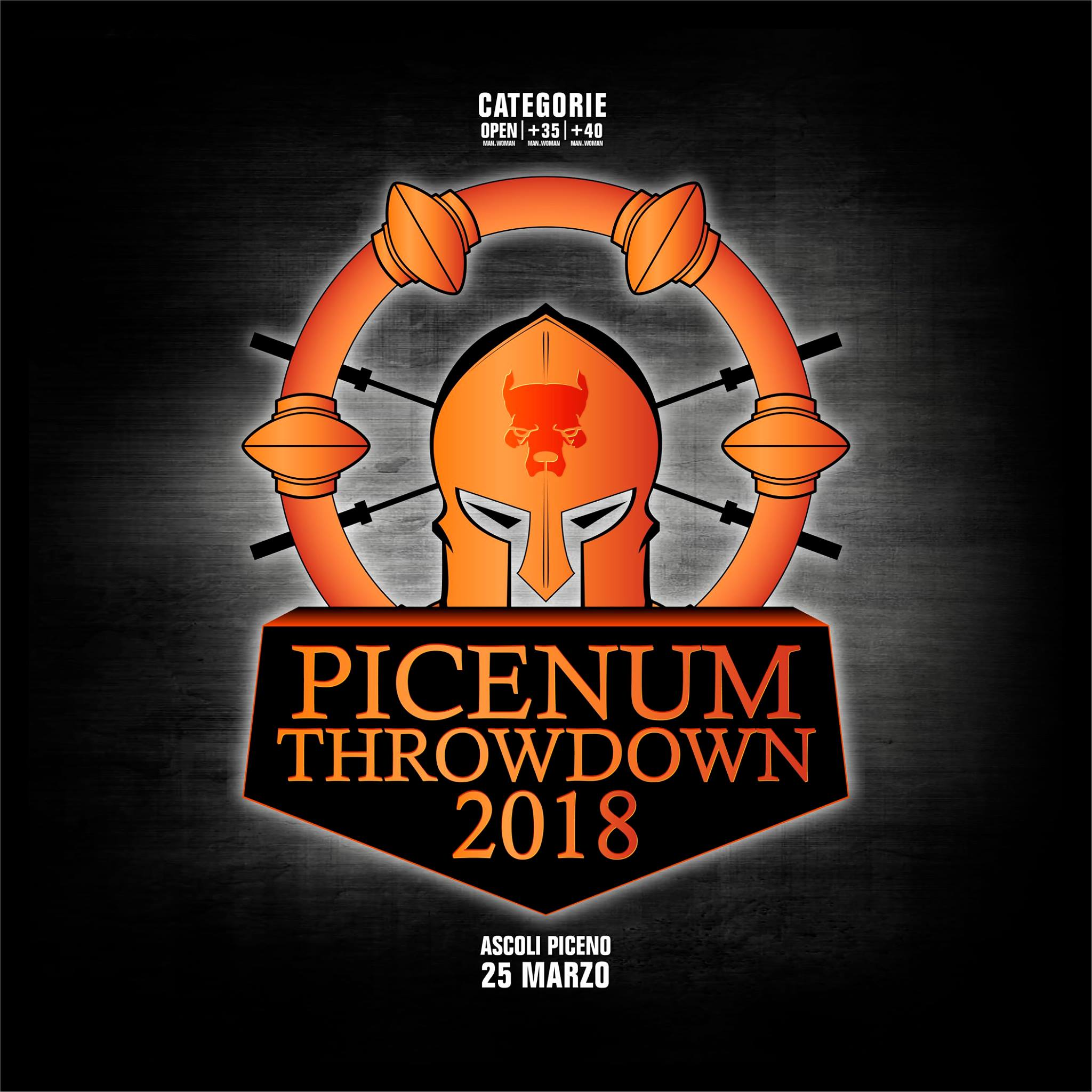 Picenum Throwdown 2018 - Competizione CrossFit Ascoli Piceno Italia | The SunWod