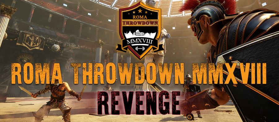 Roma Throwdown 2018